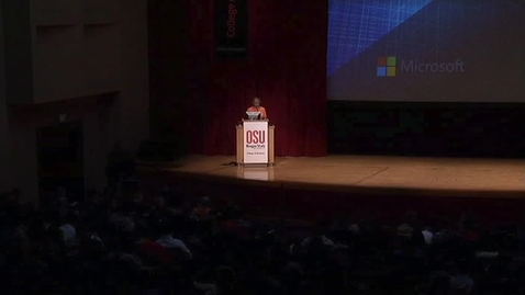Thumbnail for entry 2013 College of Business Dean's Distinguished Lecture - Jon DeVaan, Microsoft