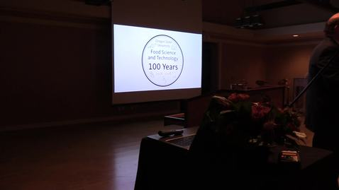 """Thumbnail for entry """"100 Years of Food Science and Technology at Oregon State University,"""" October 19, 2018"""
