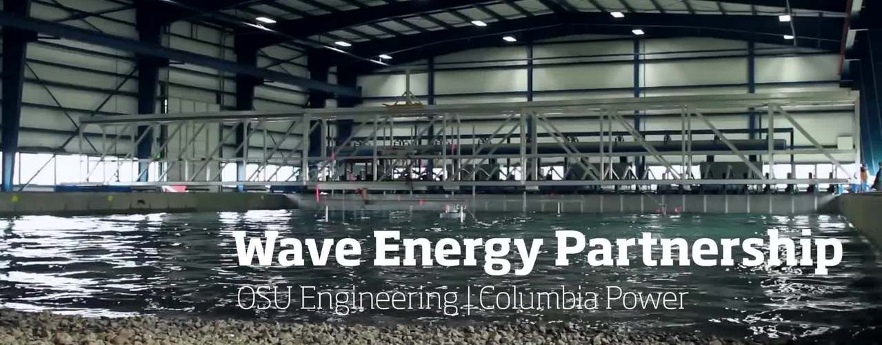 Wave Energy Partnership: OSU Engineering and Columbia Power