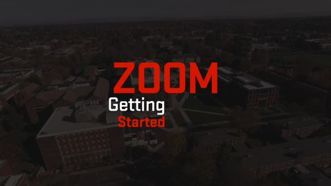 Thumbnail for entry Zoom | Getting Started