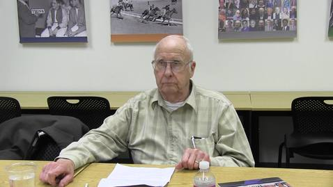 Thumbnail for entry Bill Wilkins oral history interview, October 8, 2019