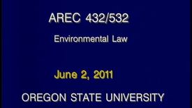 Thumbnail for entry AREC 432/532 - Lecture 19
