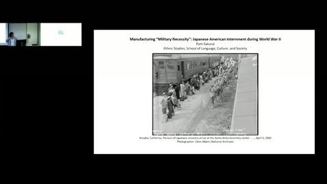 "Thumbnail for entry Manufacturing ""Military Necessity"":  Japanese American Internment During WWII by Patricia Sakurai"