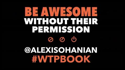 Thumbnail for entry Alexis Ohanian, Co-founder, Reddit - Be Awesome Without Their Permission (January 30, 2014)