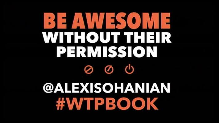 Alexis Ohanian, Co-founder, Reddit - Be Awesome Without Their Permission (January 30, 2014)