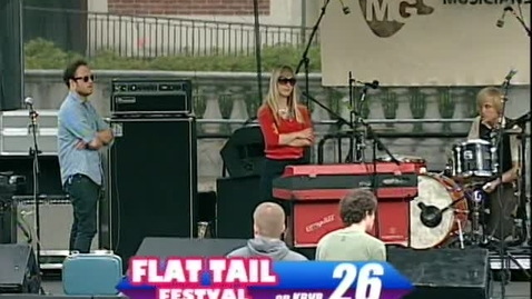 """Thumbnail for entry Flat Tail Music Festival - band """"I Will Be King,"""" June 2010"""