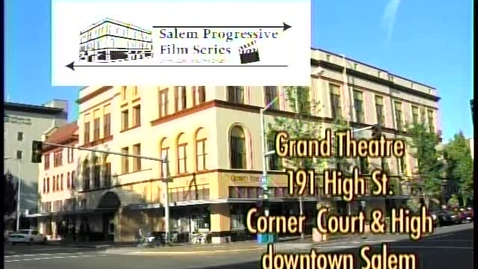 """Thumbnail for entry Salem Progressive Film Series promotion for """"The Future of Food"""",  2007"""
