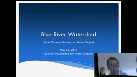 Thumbnail for entry WRE 599 Special Topics May 30, 2013