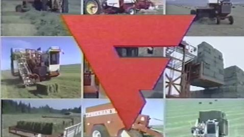 Thumbnail for entry J. A. Freeman and Sons Company haylage demonstration video, circa 1990s
