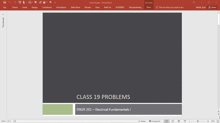Thumbnail for channel ENGR 201 - Electrical Fundamentals I