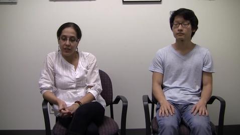 Thumbnail for entry Jenny Urbina and Kong Zheng Yeang - 2015-03-03