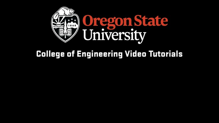 Thumbnail for channel New To Engineering at OSU