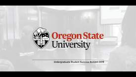 Thumbnail for entry Undergraduate Student Success Summit 2019