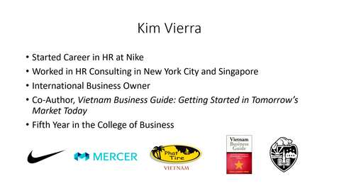 Thumbnail for entry Introduction: Kim Vierra