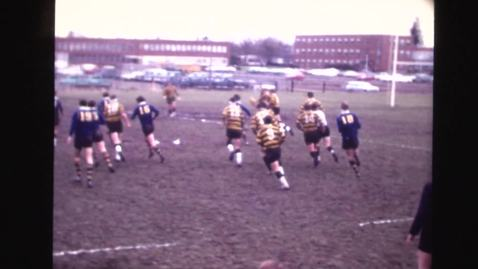 Thumbnail for entry Rugby footage: OSU vs. University of Victoria/OSU vs. University of Oregon, 1969