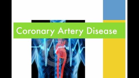 Thumbnail for entry Coronary artery disease.mp4
