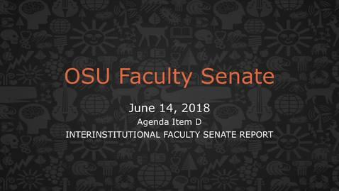 Thumbnail for entry 2018-06-14 FacSen D-Adjournment