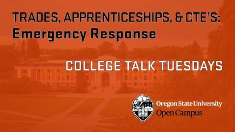 Thumbnail for entry CTT 5 Emergency Response