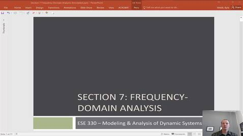 Thumbnail for entry Introduction to Frequency Domain Analysis