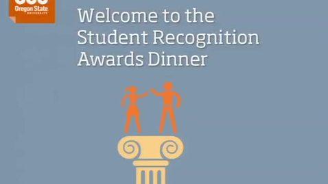 Thumbnail for entry Student Recognition Awards Dinner 2013