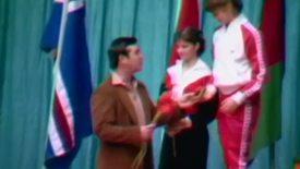 Thumbnail for entry Oregon State University Gymnastics Shanico Inn-Vitational, February 24-25, 1984