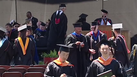 Thumbnail for entry 146th Annual Oregon State University Commencement (2015) - Part 9