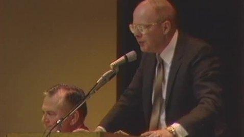 Dee Andros testimonial dinner, February 21, 1987
