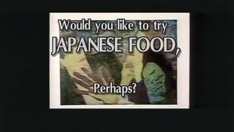 """Naomi's Itadakimasu,"" [Japanese cooking show] KBVR-TV, ca. 1998"