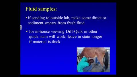 Thumbnail for entry VMB 763 Lecture 25 March 12, 2014 Cytology