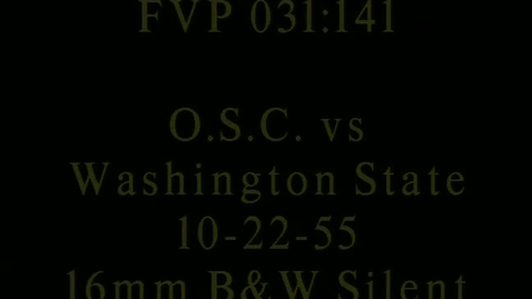 Thumbnail for entry Washington State College vs. Oregon State College football, October 22, 1955.