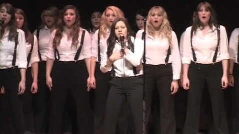 """Thumbnail for entry KBVR News - A Capella Performances by """"Outspoken"""" and """"Divine,"""" circa 2010s"""