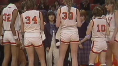 Thumbnail for entry Oregon State University women's basketball, Giusti Tournament highlights; Oregon State University football, Maurice Porter highlights, 1982