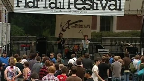"""Thumbnail for entry Flat Tail Music Festival - band """"Mt St Helens Vietnam Band,"""" June 2010"""