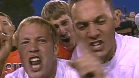 Thumbnail for entry 2001 Fiesta Bowl pageantry footage