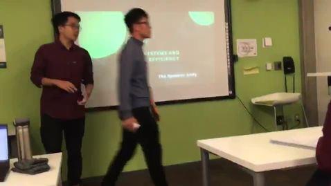 Thumbnail for entry academic presentation