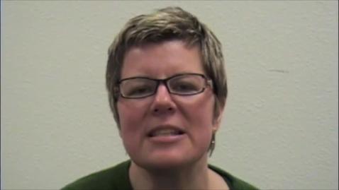 Thumbnail for entry Lisa Sedlar interview, 2009