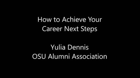 Achieve Your Next Career Steps