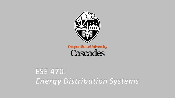 Thumbnail for channel ESE 470 - Energy Distribution Systems