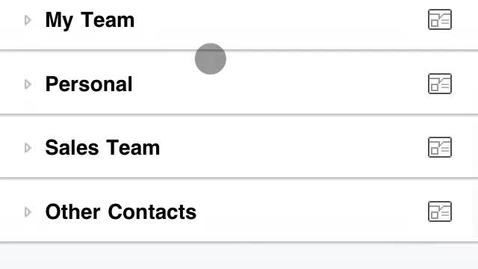 Thumbnail for entry Lync on iPhone: How to Find a Contact