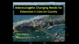 Thumbnail for entry Addressing the Changing Needs for Extension in Lincoln Count