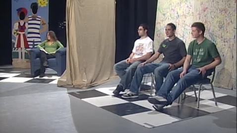 """Thumbnail for entry """"OSU Dating Game"""" [KBVR-TV], January 26, 2009"""