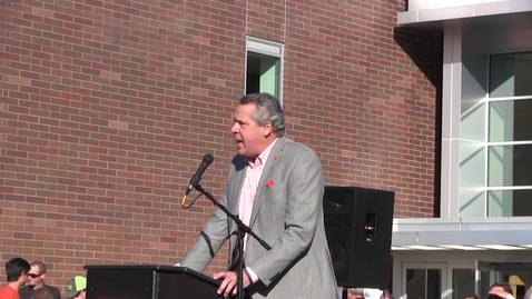 Thumbnail for entry Dick Fosbury statue unveiling ceremony, October 19, 2018