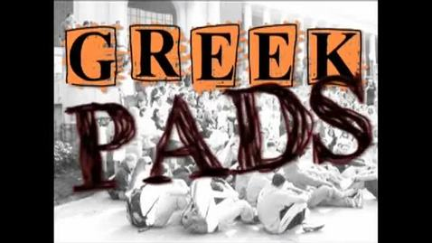"Thumbnail for entry ""Greek Pads"" [KBVR-TV Show], Lambda Chi Alpha, 2009"