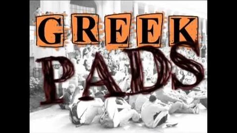 "Thumbnail for entry ""Greek Pads"" [KBVR-TV Show], Lambda Chi Alpha, 2009"