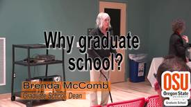 Thumbnail for entry Why go to graduate school?