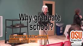 Why go to graduate school?