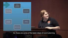 Thumbnail for entry Basic Steps of Event Planning (3 of 6)
