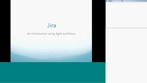 Thumbnail for entry Jira Introduction with Agile Plugin
