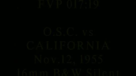 Thumbnail for entry OSC at Cal football, November 12, 1955