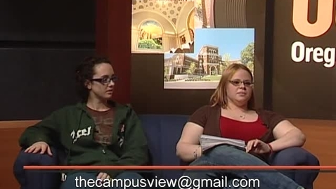 "Thumbnail for entry ""Campus View"" [KBVR-TV Show], April 29, 2008"